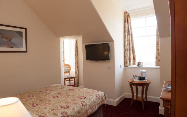 Standard Double Room with Bay window front facing